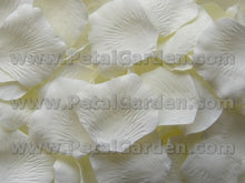 Load image into Gallery viewer, Floating Ivory Silk Rose Petals, 100 petals