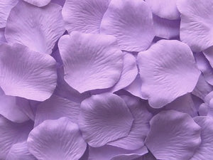 Lavender Silk Rose Petals, Value Pack 1000 Petals