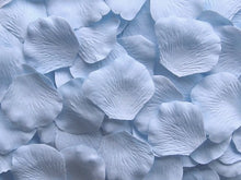 Load image into Gallery viewer, Sky Blue Silk Rose Petals, 100 petals
