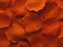 Load image into Gallery viewer, Tangerine Silk Rose Petals, Value Pack 1000 Petals