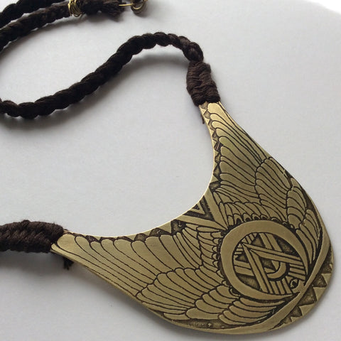 The Spirit Hawk Necklace