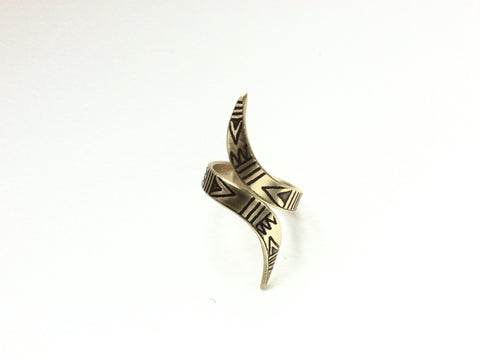 spirit hawk talon wrap around ring