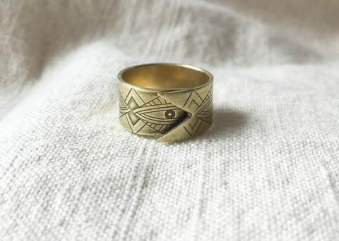 AJNA overlap wrap ring