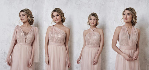 mutliway bridesmaid dress