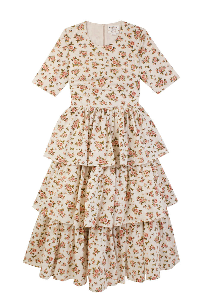 Meadows Bella Dress in Roses
