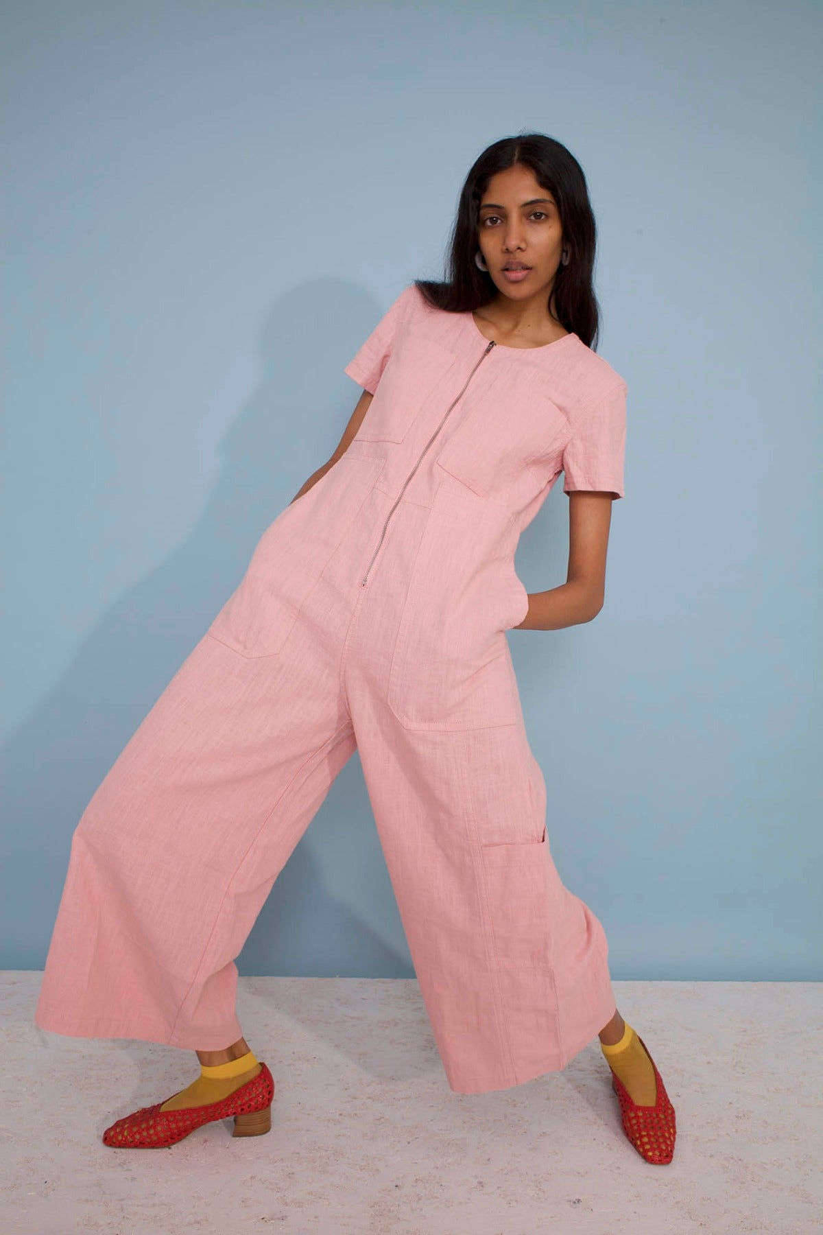 LF Markey Felix Boilersuit in Pink