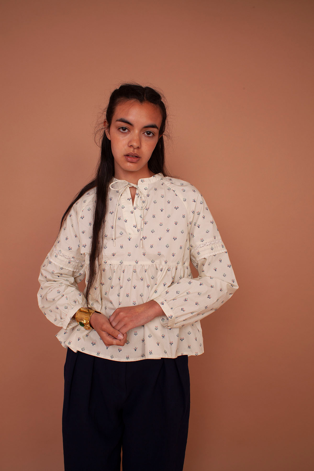 Meadows Abelia Shirt in Winter Ditsy