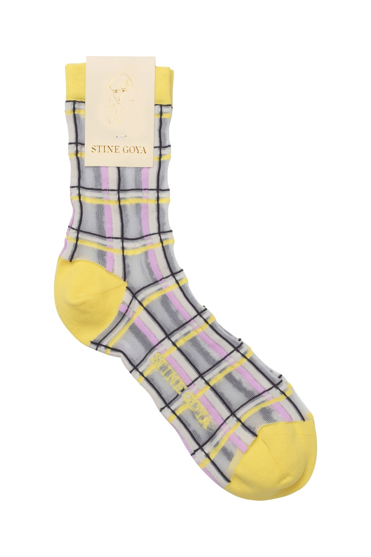 Stine Goya Tilly Socks in Checks