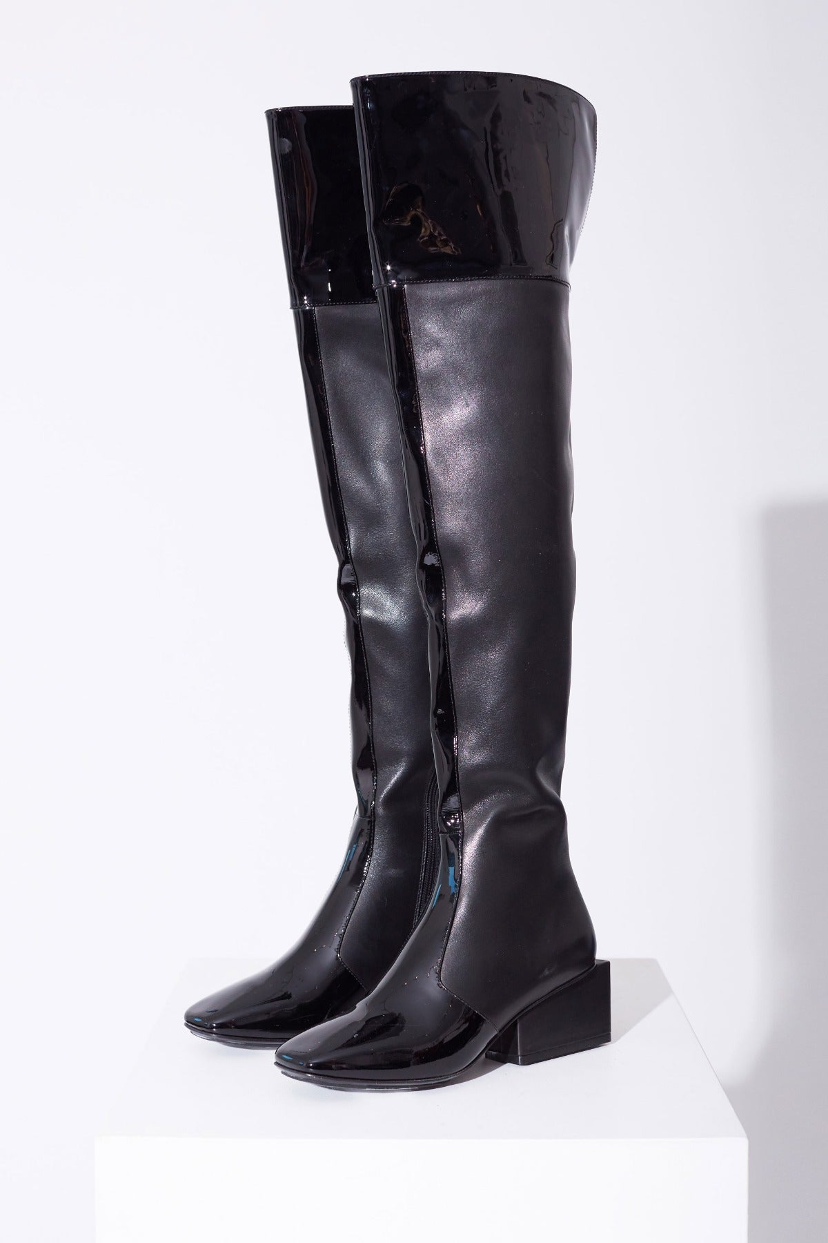 Exclusive Kurt Lyle Jessica Boot in Black