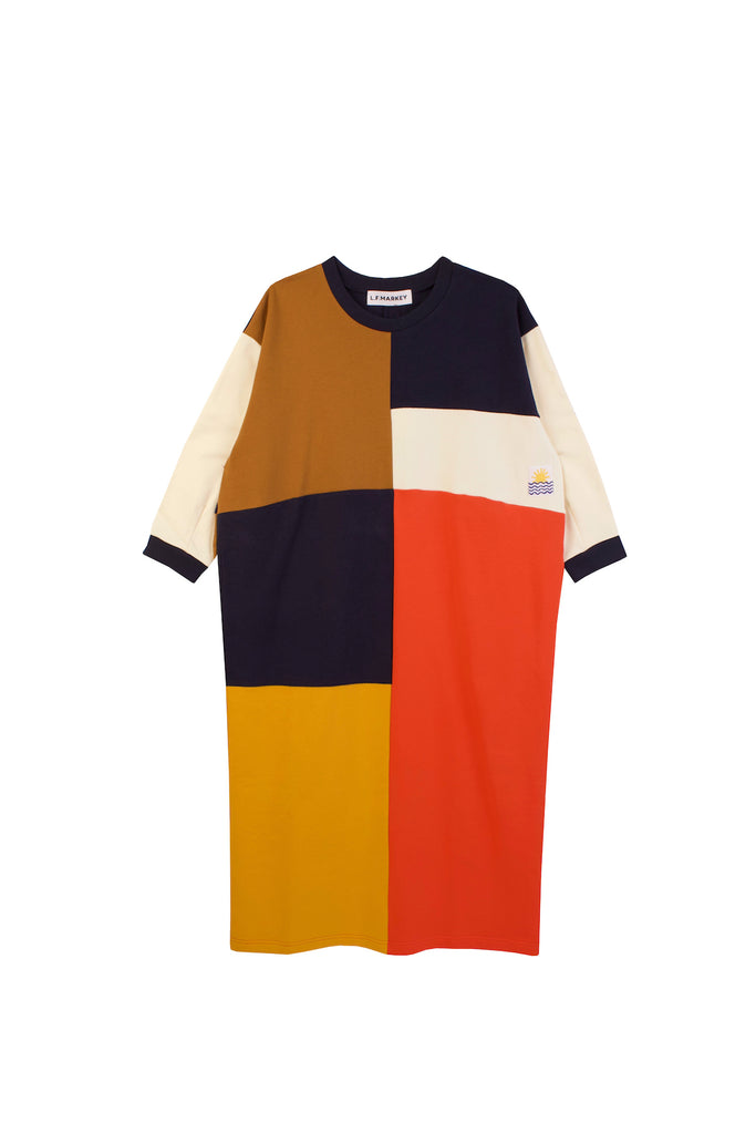 LF Markey Anders dress in Patchwork