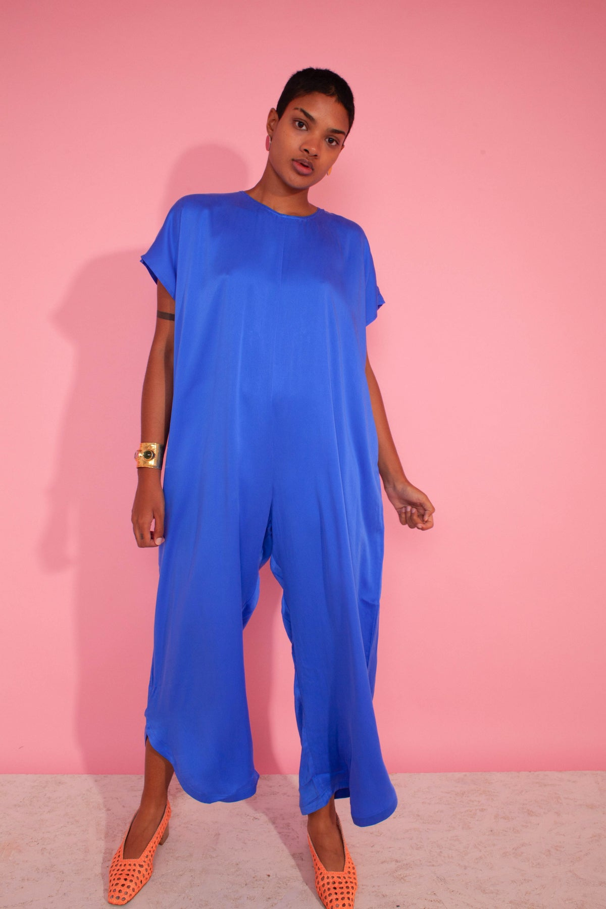 LF Markey Avery Jumpsuit in Cobalt