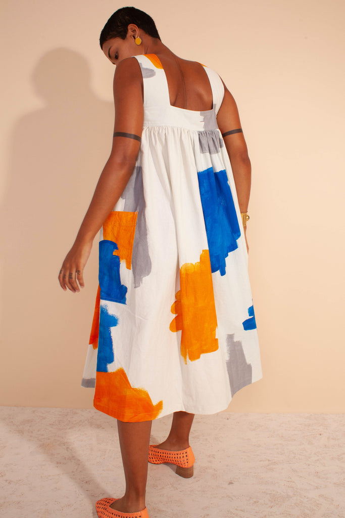 LF Markey Cameron Dress in Brushstroke