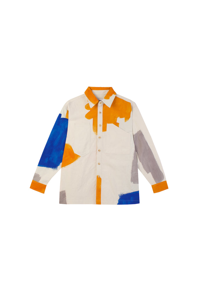 LF Markey Carlo Shirt in Brushstroke
