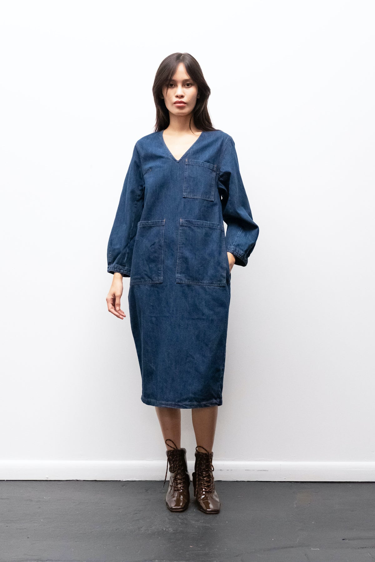 LF Markey Merlon Dress in Indigo