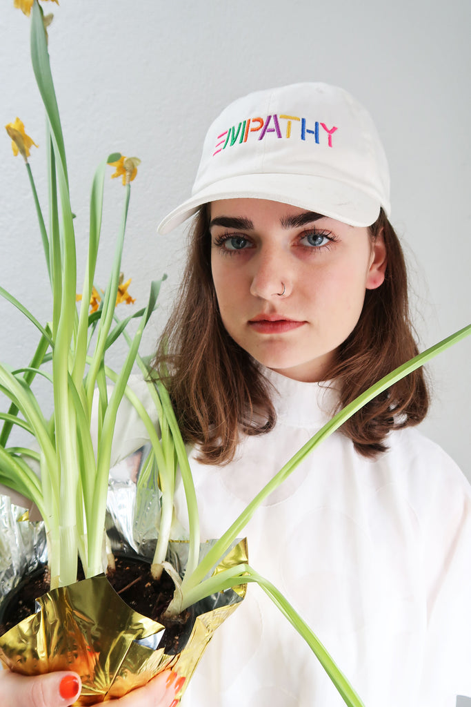 Empathy Embroidered Hat