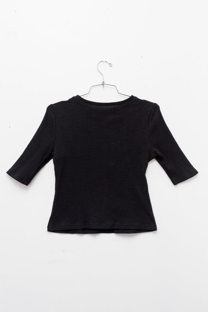 ALESSIA TOP in Black