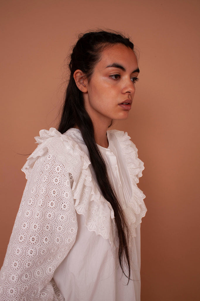 MEADOWS Poppy Shirt in White