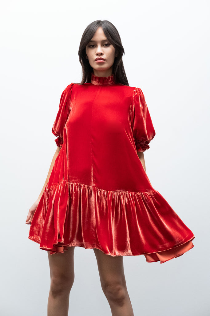 Jesperia Dress in Flame