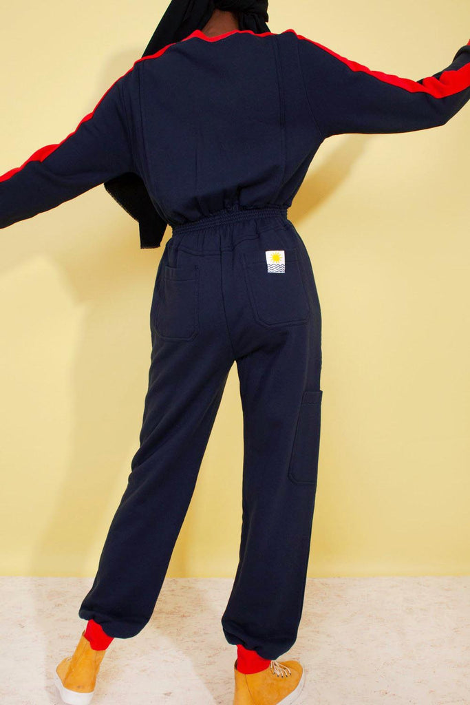 LF Markey Dom Boilersuit in Navy