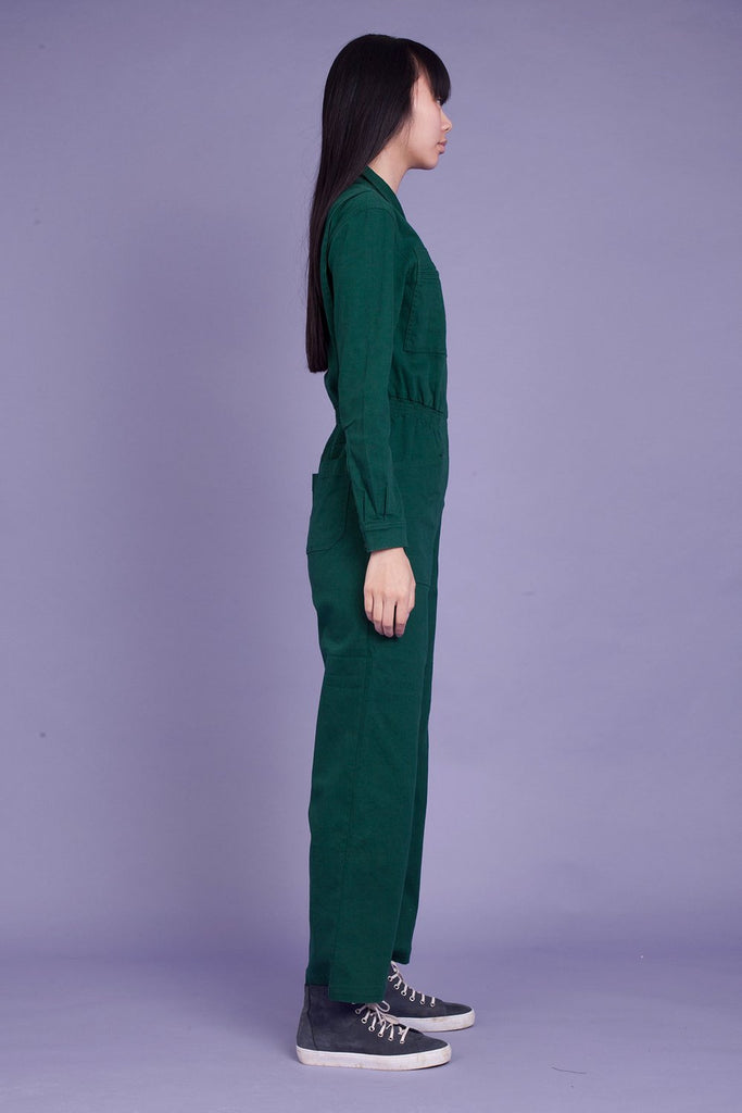 LF Markey Danny Boilersuit in Forest Green