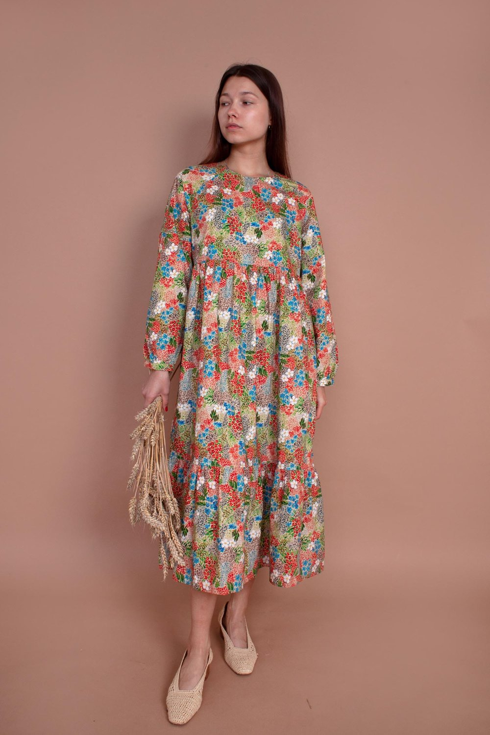 MEADOWS Acacia Dress in Winter Meadow