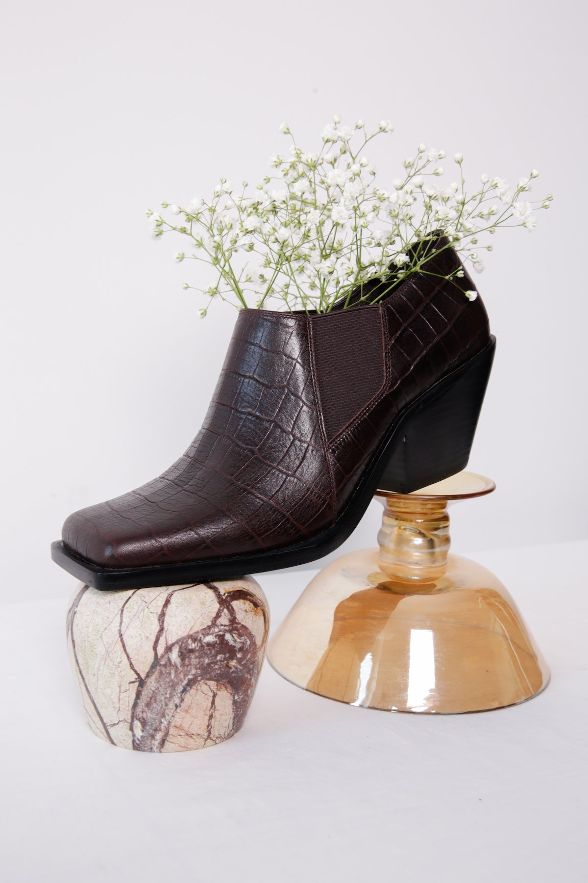 Exclusive Emilia Bootie in Cowboy