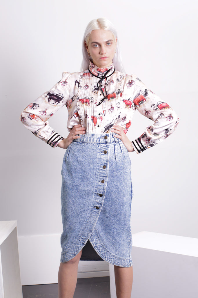 Rachel Antonoff Louise Pintuck Top