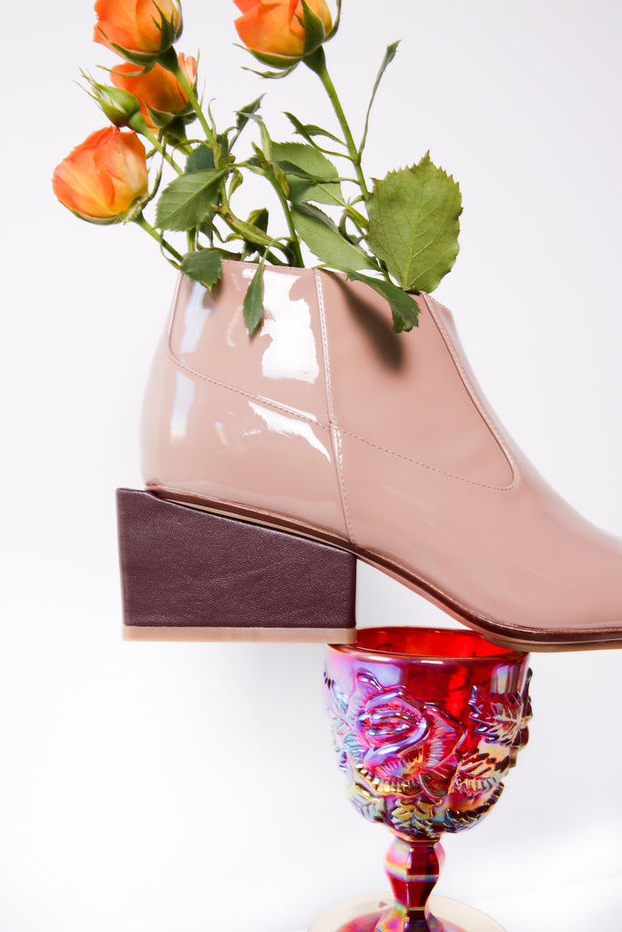 Kurt Lyle Exclusive Gina Boot in Putty