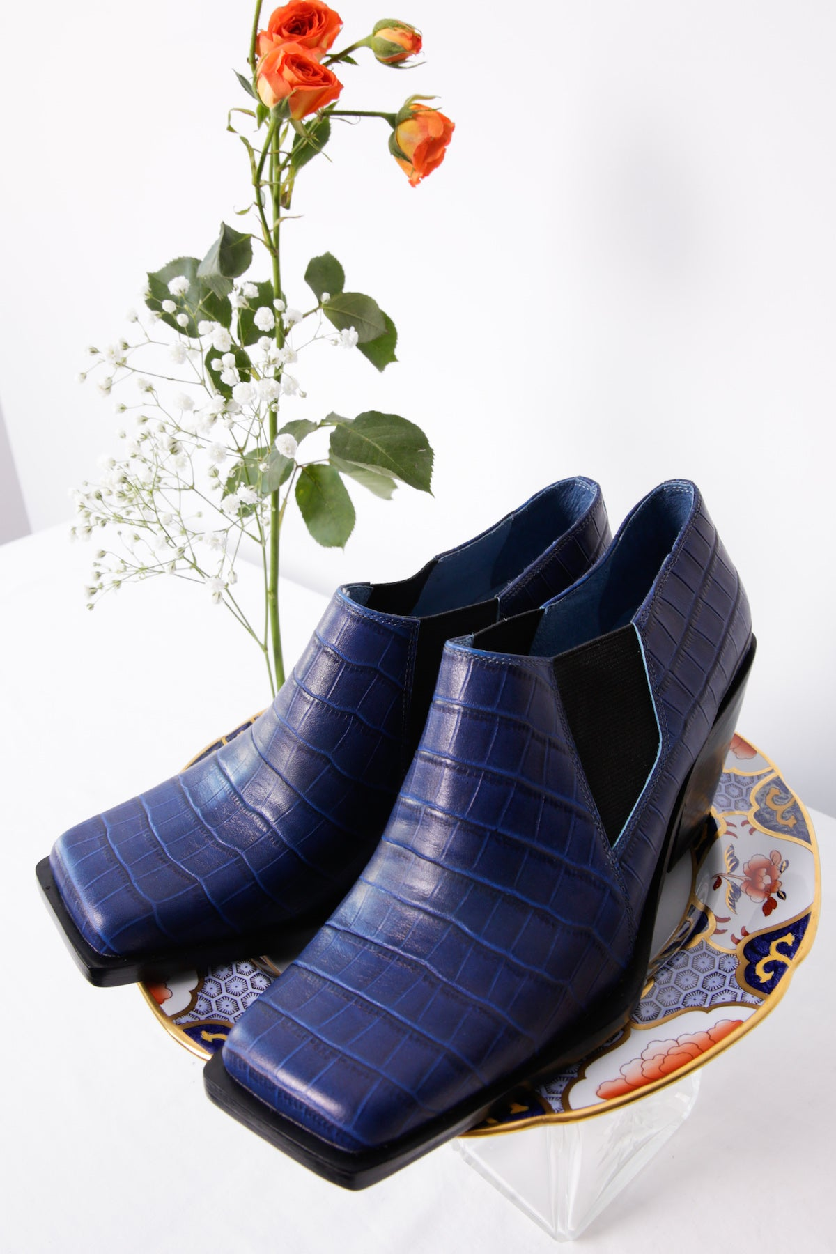 Kurt Lyle Exclusive Emilia Bootie in Night