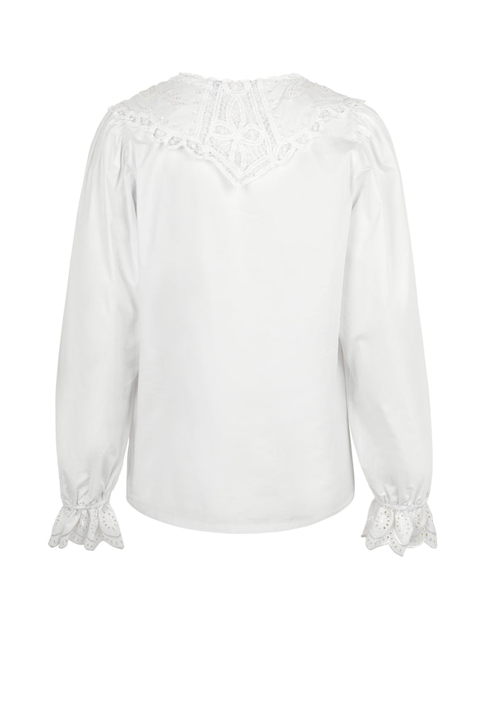 CRĀS Vilma Shirt in White
