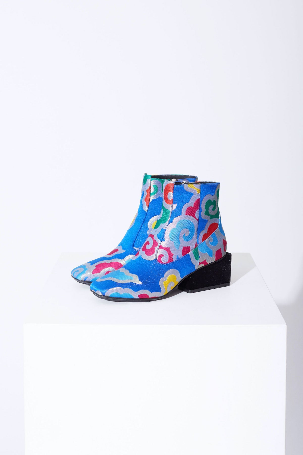 Exclusive Kurt Lyle Regina Boot in Cloud Jacquard