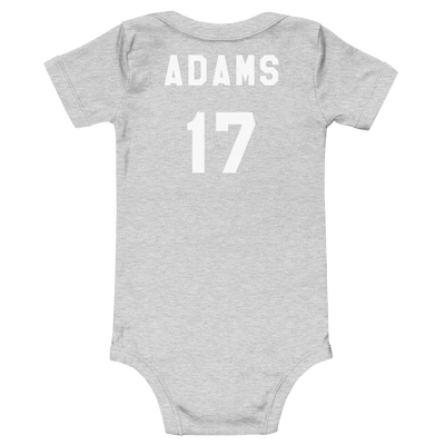 Da17 Baby One Piece Athletic Grey Davante Adams Shop