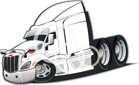 579 Peterbilt  Vector down load PDF File