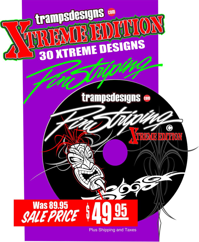 Pinstriping Xtreme Edition by Tramp Warner   trampsdesigns.com