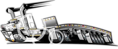 KW Flat Bed  Download  PDF Vector File