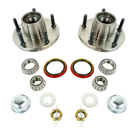 1964-72 Chevy Chevelle El Camino Roller Bearing Hub Upgrade Kit - SAE-Speed