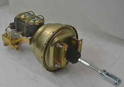 "58-64 CHEVY IMPALA 8"" BOOSTER MASTER CYLINDER PROPORTIONING VALVE COMBO NEW-Source Automotive Engineering"