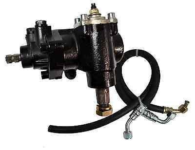 GM 605 Power Steering Gear Box W/ Hoses 1982-1988 Monte Carlo/G-Body - Source Automotive Engineering