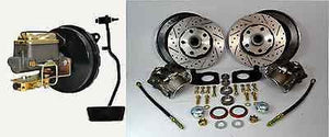 1967 Ford Mustang Front Disc Brake Conversion Kit Booster Master Pedal - Source Automotive Engineering
