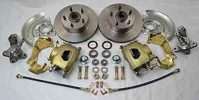 GM Camaro Chevelle Nova Front Disc Brake Kit Stock Spindle A F X Body - Source Automotive Engineering