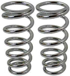"Mustang II Coil Over Replacement Spring 375 LB. 8"" Length Chrome - Source Automotive Engineering"