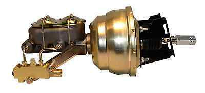 55-64 Chevrolet Car Booster Master Cylinder Proportioning Valve Combo - SAE-Speed