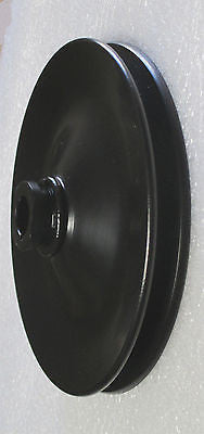 55 56 57 Chevrolet Power Steering Pulley Single Grove Tri Five - Source Automotive Engineering