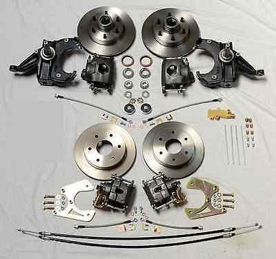 Chevrolet GM C10 C15 Truck 1963-70 Front And Rear Disc Brake Conversion Kit - Source Automotive Engineering