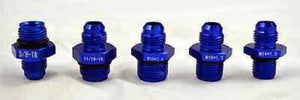 Power Steering Hose Fittings Blue Anodized - Source Automotive Engineering