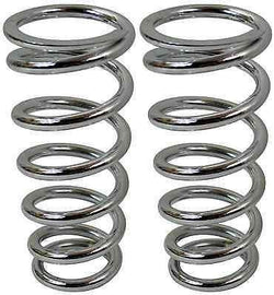"Mustang II Coil Over Replacement Spring 350 LB. 10"" Length Chrome - Source Automotive Engineering"