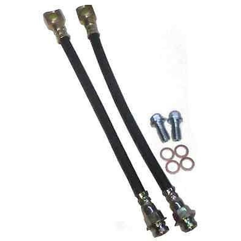 "16"" Rubber Rear Brake Hose Kit With 10MM Bannjo Bolts - SAE-Speed"