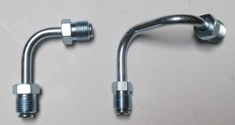 Steel Hard Brake Lines Zinc Finish Use For GM Proportioning Valve Master Cylinder - Source Automotive Engineering