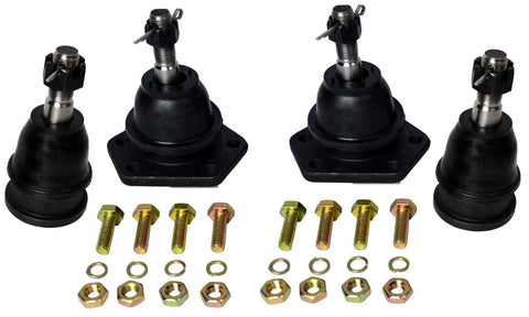 1963-1970 Chevrolet/GMC C10 Truck Upper And Lower Ball Joints 4 PC Kit - Source Automotive Engineering