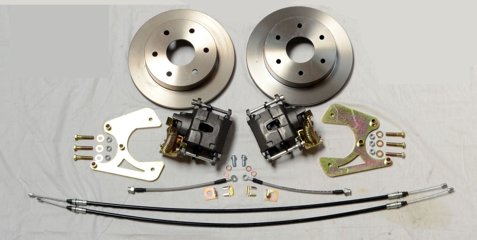 Buy 1963-1970 Chevrolet C10 Rear Disc Brake Conversion 6X5 5 Bolt Pattern  W/ E-brake at SAE-Speed for only $449 99